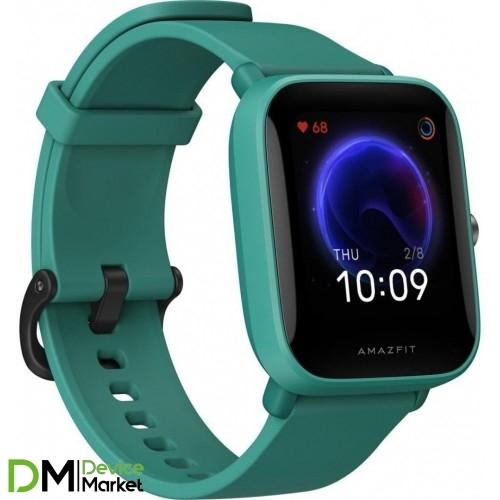 Смарт-годинник Xiaomi Amazfit Bip U Green