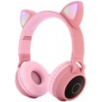Наушники Bluetooth Tucci P39 Pink