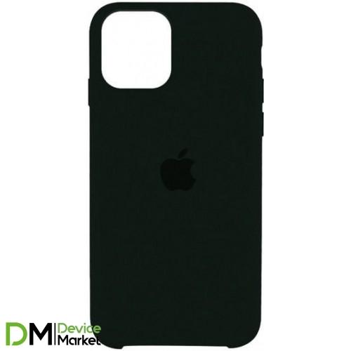 Silicone Case iPhone 11 Pro Max Black Green