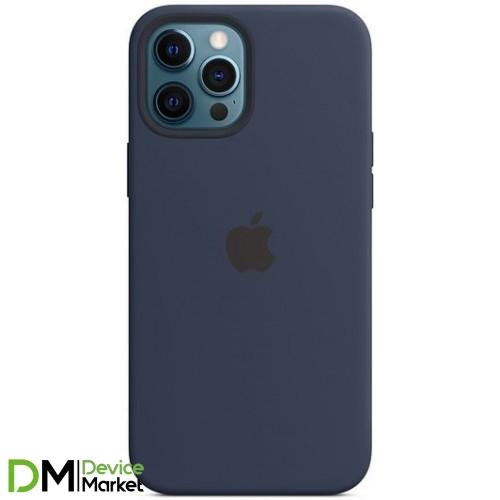 Silicone Case для iPhone 12 Pro Max Deep Navy