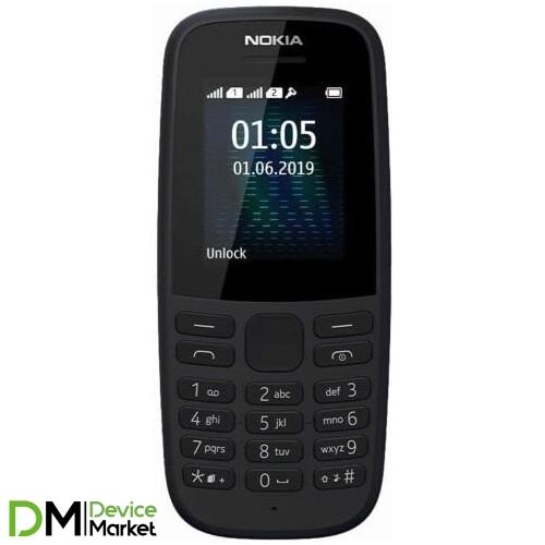 Nokia 105 New Dual Sim Black