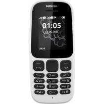 Nokia 105 New Dual Sim White