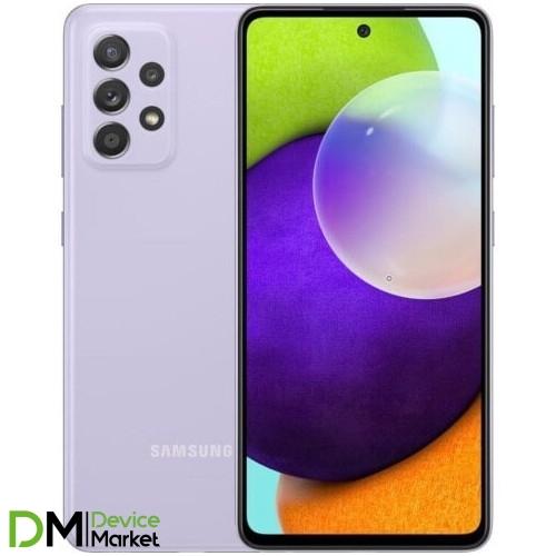 Смартфон Samsung Galaxy A52 4/128GB Violet (SM-A525FLVDSEK) UA