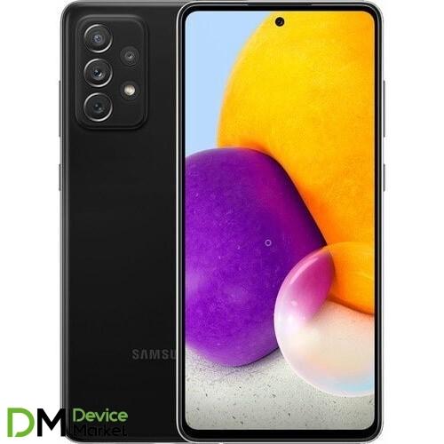 Смартфон Samsung Galaxy A72 8/256GB Black (SM-A725FZKHSEK) UA