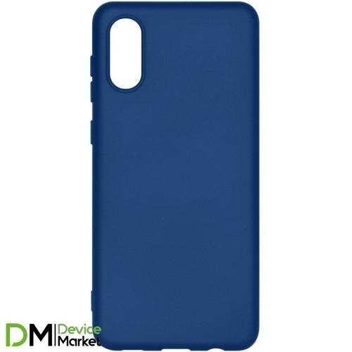 Чехол Armorstandart Icon Case для Samsung A02 A022 Dark Blue