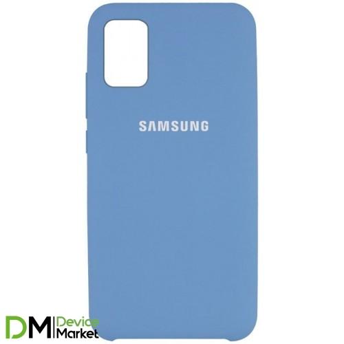 Silicone Case Samsung A71 Denim Blue