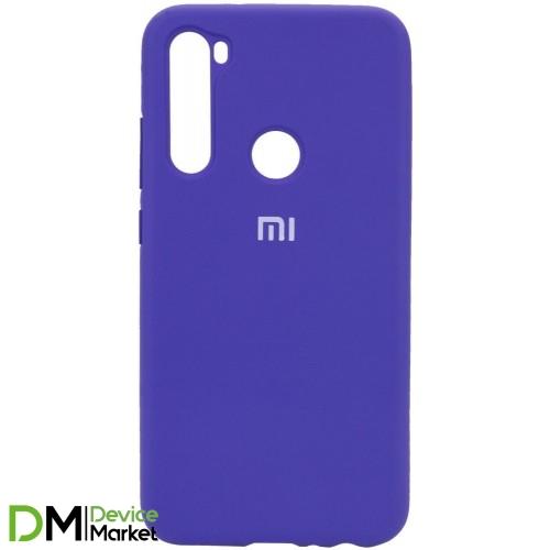 Silicone Case Xiaomi Redmi Note 8T Purple