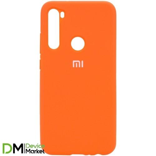 Silicone Case Xiaomi Redmi Note 8 Orange