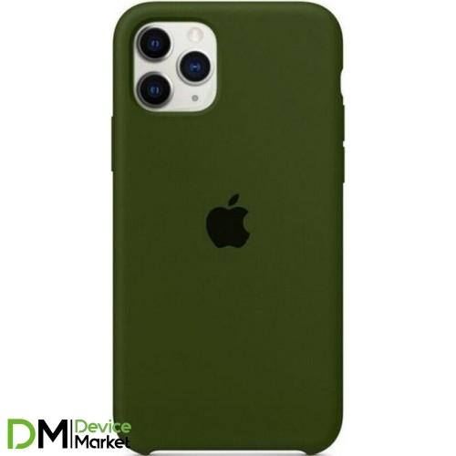 Silicone Case для iPhone 11 Pro Green