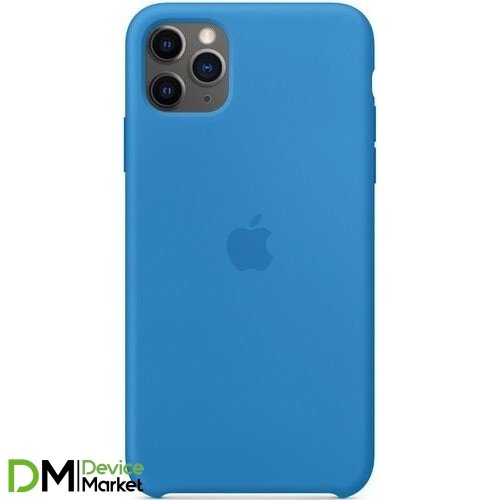 Silicone Case для iPhone 11 Pro Blue