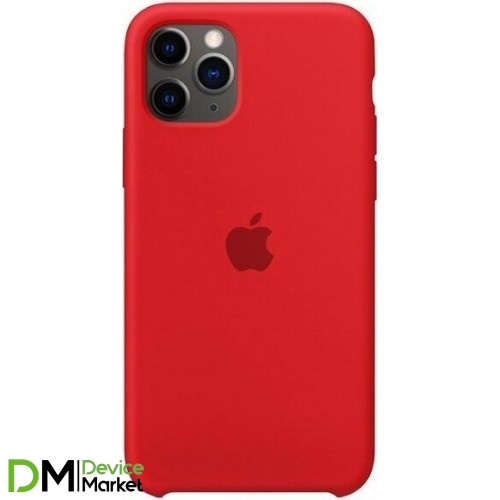 Silicone Case для iPhone 11 Pro Red