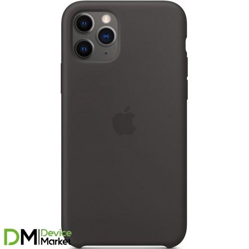 Silicone Case для iPhone 11 Pro Black