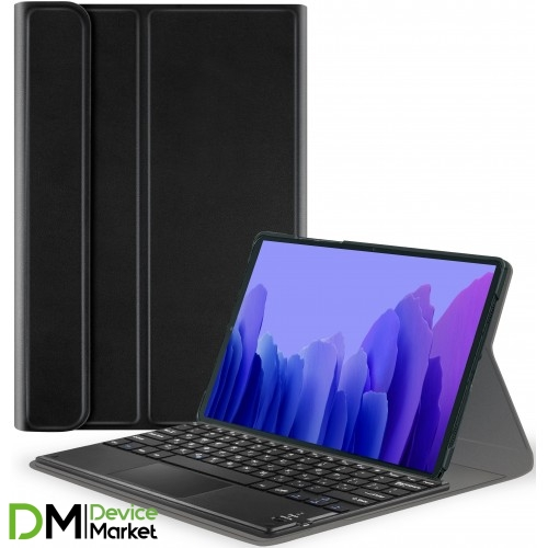 Чехол AIRON Premium для Samsung Galaxy Tab A7 T500 з Bluetooth клавиатурой с тачпадом Black