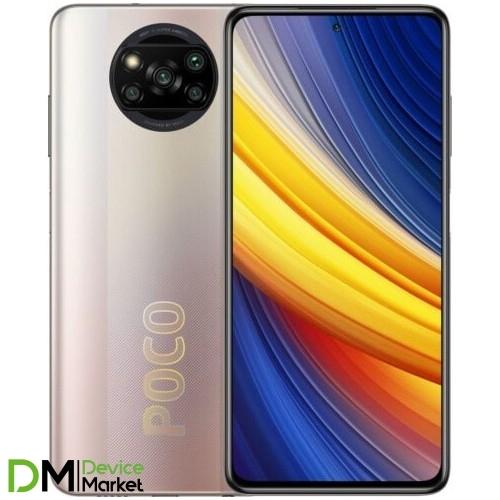 Смартфон Xiaomi Poco X3 Pro 6/128Gb Metal Bronze Global UA