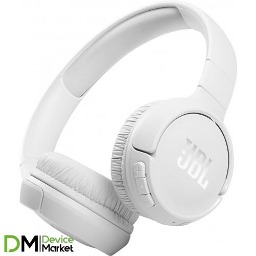 Bluetooth-гарнитура JBL Tune 510BT White (JBLT510BTWHTEU)