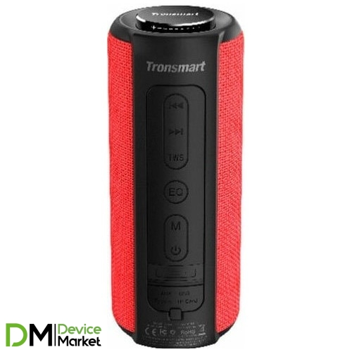 Акустическая система Tronsmart Element T6 Plus Red (367786)
