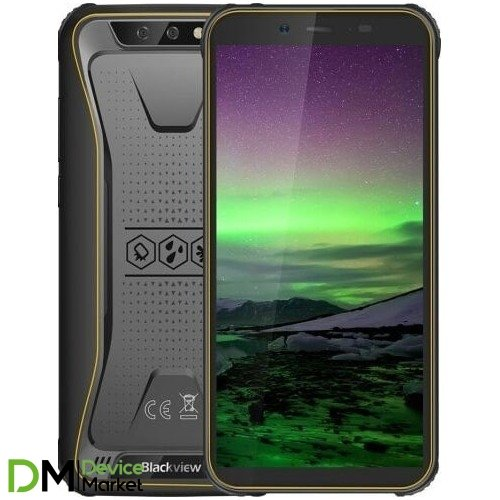Смартфон Blackview BV5500 2/16GB Yellow UA