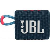 Колонка JBL GO 3 Blue Pink (JBLGO3BLUP)
