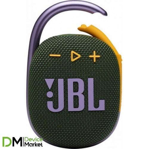 Колонка JBL Clip 4 Green (JBLCLIP4GRN)