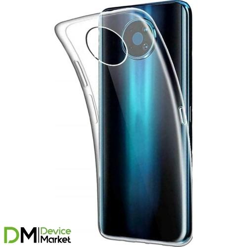 Чехол силиконовый для Nokia G10/G20 прозрачный