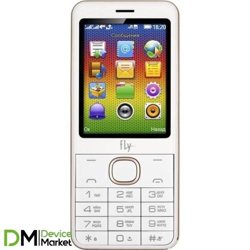 Телефон Fly FF2801 Champagne Gold