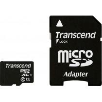 Карта памяти Transend microSDXC 64GB Class 10 + adapter
