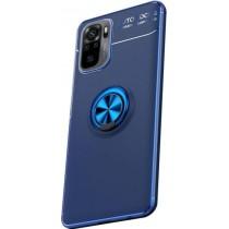 Чехол Deen Color Ring для Xiaomi Redmi Note 10/Note 10s Blue