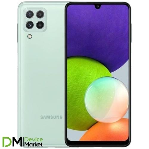 Смартфон Samsung Galaxy A22 4/64 Light Green (SM-A225FLGDSEK) UA