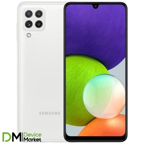 Смартфон Samsung Galaxy A22 4/128GB White (SM-A225FZWDSEK) UA