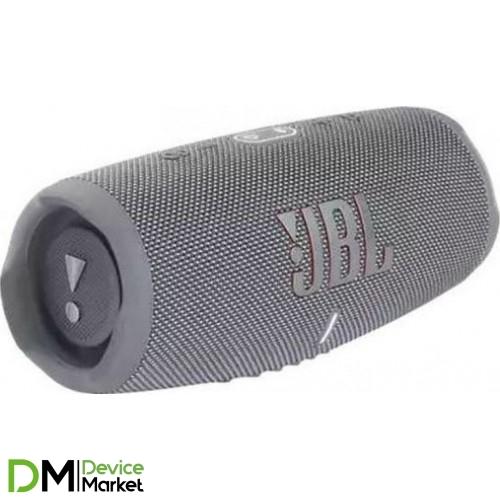Колонка JBL Charge 5 Gray (JBLCHARGE5GRY)
