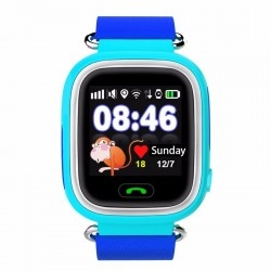 Smart Baby Watch Q90 Blue