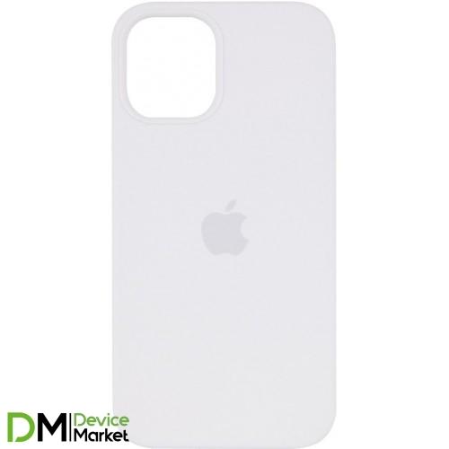 Silicone Case для iPhone 12 Pro Max White