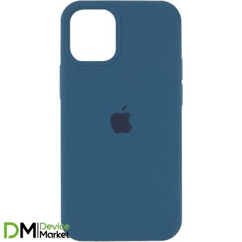Silicone Case для iPhone 12 Pro Max Cosmos Blue