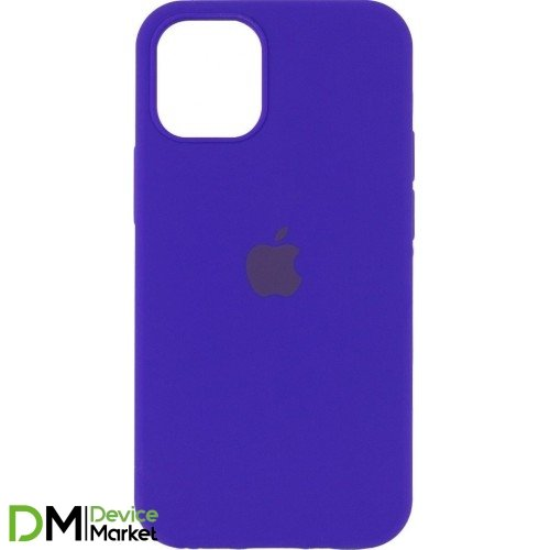 Silicone Case Full Protective для iPhone 12 Pro Ultra Violet