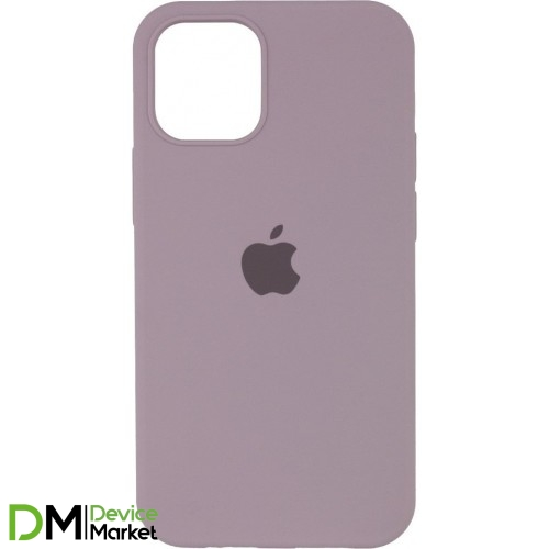 Silicone Case Full Protective для iPhone 12 Pro Lavender