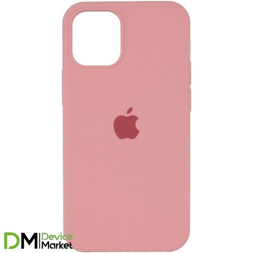 Silicone Case Full Protective для iPhone 12 Pro Pink