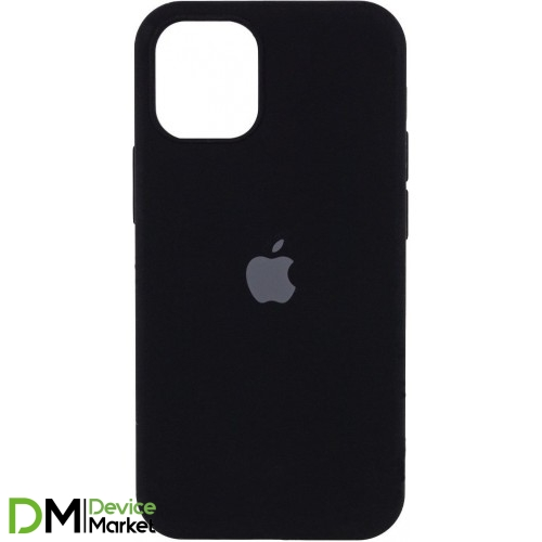 Silicone Case Full Protective для iPhone 12 Pro Black