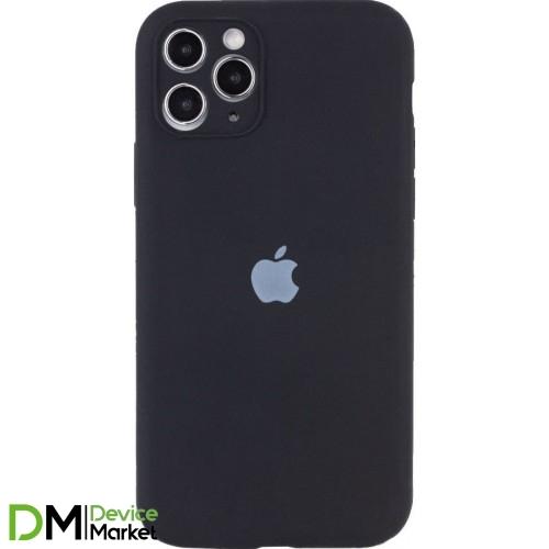 Silicone Case Full Camera Protective для iPhone 12 Pro Black