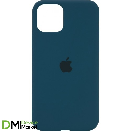 Silicone Case Full Protective для iPhone 11 Cosmos Blue