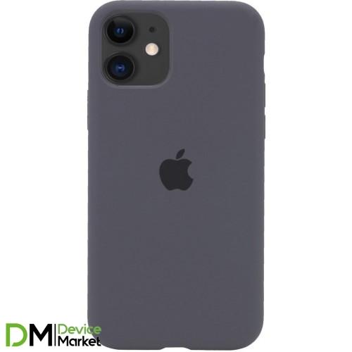 Silicone Case Full Protective для iPhone 11 Dark Gray