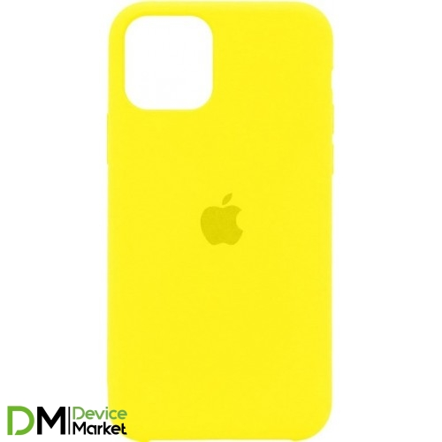 Silicone Case для iPhone 11 Pro Neon Yellow