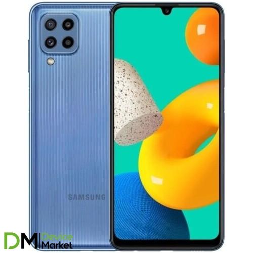 Смартфон Samsung Galaxy M32 6/128 Light Blue (SM-M325FLBGSEK) UA