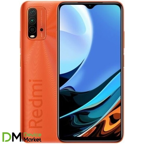 Смартфон Xiaomi Redmi 9T 4/128GB NFC Sunrise Orange Global