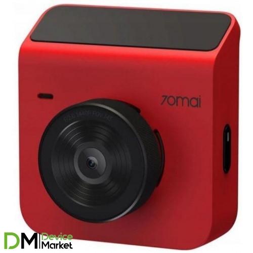 Автомобильный видеорегистратор Xiaomi 70mai Dash Cam A400 Red
