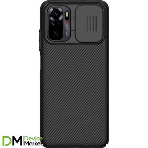Чохол Nillkin Camshield для Xiaomi Redmi Note 10/Note 10S Black