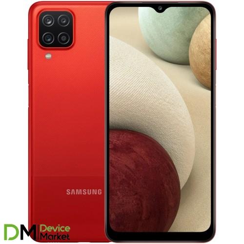 Смартфон Samsung Galaxy A12 2021 3/32Gb Red (SM-A127FZRUSEK) UA