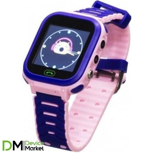 Смарт-часы Smart Baby Watch T18 Pink