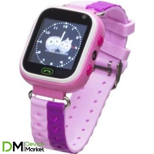Смарт-часы Smart Baby Watch GM7S Pink