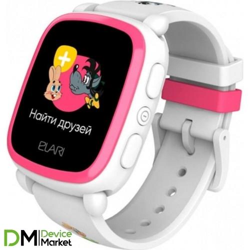 Смарт-часы Elari KidPhone KP-NP-WP White