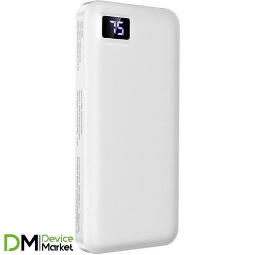 Power Bank Borofone BT22 10000 mAh White
